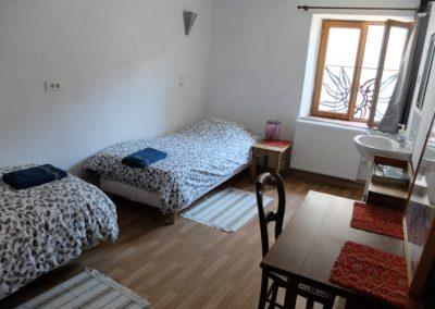 Chambre 2- 2 lits séparé