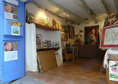 atelier de peinture-Els Knockaert
