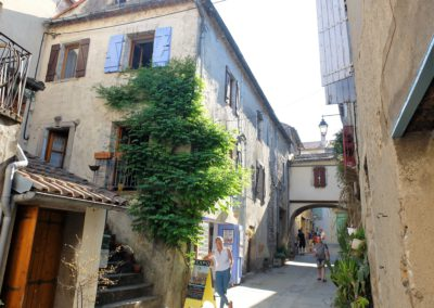 Rue du Balad + atelier de peinture